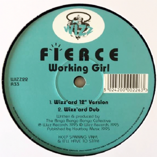 "Fierce - Working Girl (12"") (VG/NM)"